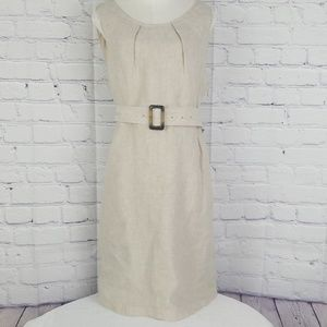 NWT Tahari 100% linen dress